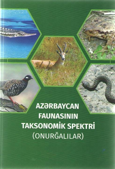 """""""Azərbaycan faunasının taksonomik spektri (onurğalılar)"""" adlı kitab işıq üzü görüb"""
